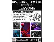 BASS TROMBONE Music theory LESSONS FROM WILLIAM FROM FUZIGISH