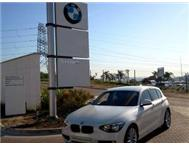2012 BMW 1 Series 116i 5dr A/t (f20)