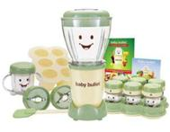 MAGIC BABY BULLET; MAKE & STORE YOUR OWN HEALTHY BABY FOOD!