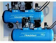 New Air Compressors & On-site repairs - 24L up to 500L