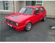 VW golf race car EX PROTOUR car