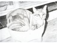 Artist pencil Sketch of your Loved ones. Kids Adults Pets. Cars