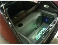 Alpine Car audio by DREAMWORKS EXOTIC CUSTOMS