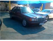 MERCEDES BENZ 190E MANUAL! SUPERB CONDITION!