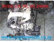 Ssangyong Musso 2.9Tdi engine used/imported