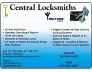24 hour locksmith Gauteng BMW and all cars