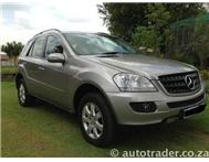 2007 MERCEDES-BENZ M-CLASS ML320 CDI 4Matic 6 CD Shuttle