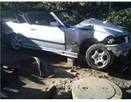 ACCIDENT DAMAGED CAR FOR SALE - BMW 325i CONVERTIBLE FOR SALE