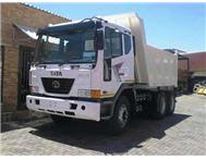 2010 TATA NOVUS 5542 10 CU TIPPER 6X4 AS GOOD AS NEW