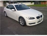 BMW 325i A/T COUPE AUTO 2007 62 000 KLM MOTORPLAN 1 OWNER 4 SALE