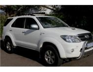 Toyota Fortuner D4D 4 x 2 Excellent Condition