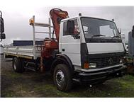 TATA LPT 1518 with Dropsides & Cran...