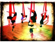 Aerial Yoga and Silk Fitness workshops