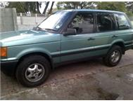 RANGE ROVER JEEP 4.6HSE 2000 MODEL