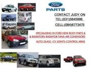 SPECIALISING IN FORD NEW BODY PARTS-RADIATORS-RADIATOR FANS---