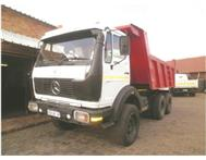 2010 MERCEDES-BENZ 2624 10 Cube Tipper ADE 407 Turbo Engine Diesel