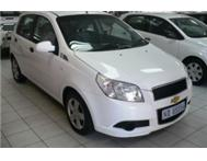 2009 CHEV AVEO 1.6LS FINANCE ARRANGED -R1900P.M MCCARTHY VW