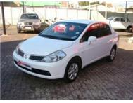 2007 NISSAN TIIDA 1.6 ACENTA for sale in mint condition - R69900