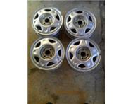 Chevrolet Spark 14 rims x 4 Good condition. Asking R800.