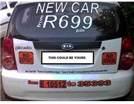 DRIVE a NEW CAR from R 599 699 799 999