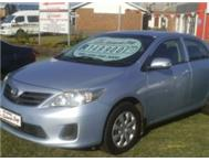 2010 TOYOATA CORROLA 1.3 - RICHARDS BAY