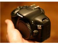 CANON EOS 550D 18.0 MP DIGITAL SLR CAMERA - BLACK
