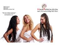 Real and natural hair extensions
