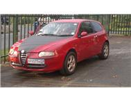 Alfa romeo 147 price reduced to r27000