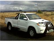 Single Cab Toyota Hilux D4D 2007 3L
