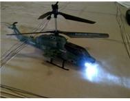 RC HELICOPTER NINJA SERIES WITH GYRO AND SPOT LIGHT