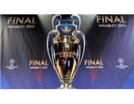 CHAMPIONS LEAGUE FINAL TICKET: 2013