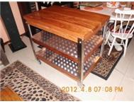 Skye Steel one of a kind Designer Steel & Timber Furniture
