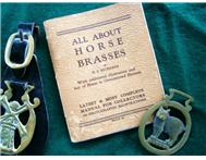 Horse Brasses on Leather with free Booklet for Sale!