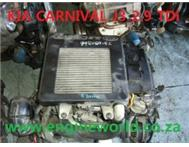 Kia Carnival 2.9Tdi engine used/imported
