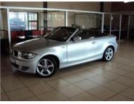 2009 BMW 1 SERIES 120I MANUAL CONVERTIBLE
