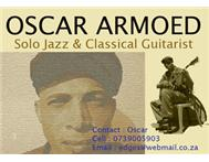 SOLO JAZZ & CLASSICAL GUITARIST AVAILABLE