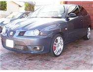 2008 SEAT IBIZA CUPRA 1.9 TDI SPORT FOR SALE R 88500