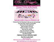 Pamper Parties @ be-dazzle hair and beauty salon