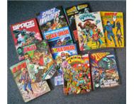 Annuals Graphic Novels Comic; 2000 AD Judge Dredd Eagle etc..