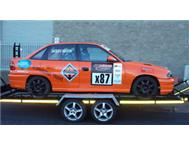 Opel Astra 200ie Racing Car with Trailer for Sale