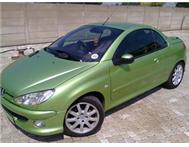 Peugeot 206 cc from the freestate