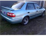 Rent to own: TOYOTA CORROLLA INSTALLMENTS of R3900pmX24mnths