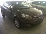 Brand new Kia Rio 1.4 std sedan