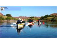 Orange River Augrabies Falls canoe Safari.