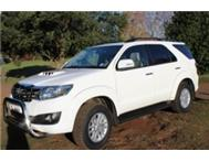 2012 Fortuner III 3.0 D4D - As New Excellent Condition!