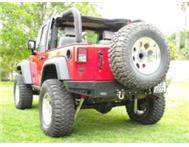 Jeep Wrangler rear bumpers 2007-2011 Sahara- Rubicon- Unlimited