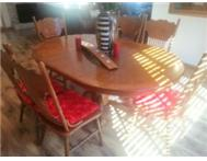 IMPORTED DINING ROOM TABLE WITH CHAIRS!