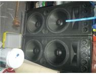 JB SYSTEMS AMP SPEAKERS AND LAZER ETC. FOR SALE