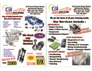 ENGINE SPARES BODY PARTS SERVICE KITS & REPAIR OF ALL CARS