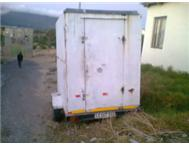 TAKE AWAY TRAILER WITH CHIPS FRYER & A GRILL FOR SALE FULLY LIC